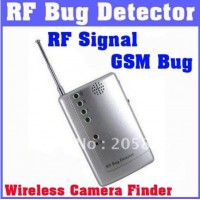 Detector semnale RF, GSM si camere wireless