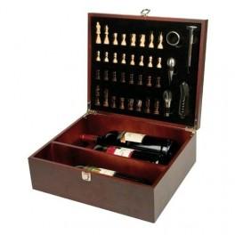 Cutie cadou pentru 3 sticle de vin - cadouri pentru prieteni