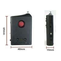 Detector Universal de Camere Ascunse/Microfoane 1-6000 MHz
