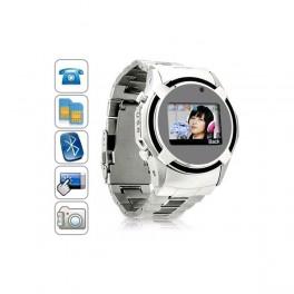 Ceas - Telefon mobil Dual SIM cu touchscreen