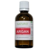 Complete set facial treatment with argan oil