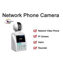 Camera IP si telefon de retea cu alarma