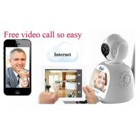 Video camera IP cu sistem de alarma-fum,foc,efractie,miscare