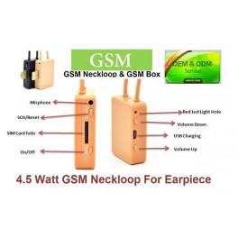 4.5 Watt Spy GSM Neckloop for spy earpiece