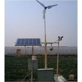 Sistem complet de alimentare solar si eolian