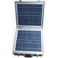 Portable Emergency Solar Power Box 220VAC and 12VDC