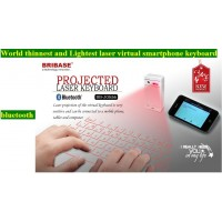 Projected virtual laser bluetooth keyboard for pc
