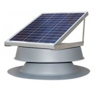 Household solar fan