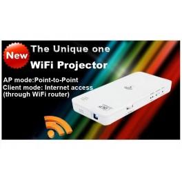 Miniproiector cu WiFi de buzunar HD