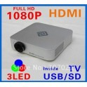 Mini HD Projector LED