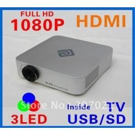 Mini Videoproiector HD cu tehnologie LED