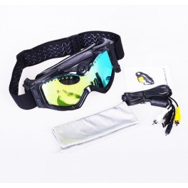 Ochelari cu video-camera pentru Schiori/Sportivi