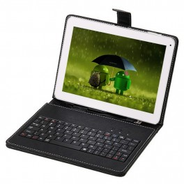 Tableta Lead M121, 10 Inch, cu tastatura si husa