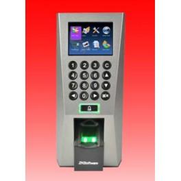 Acces control pe baza de amprenta sau cod PIN