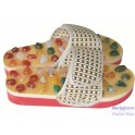 Health Care Agate Massage Slippers