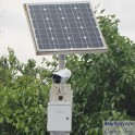 3G Environmental monitoring solar ip camera
