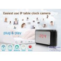 WIFI IP Clock Camera For Smart Phone and iphone