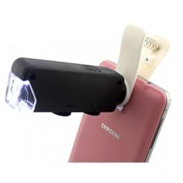 Microscop electronic pentru telefon cu zoom 100x