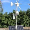 Camera de supraveghere solara si eoliana