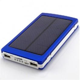 Power Bank solar 20000mAh cu Far si proiector