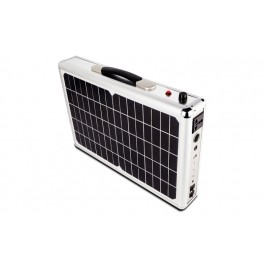 Portable Solar System For Camping
