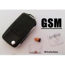 Sistem de spionat sau copiat mascat in Cheie auto