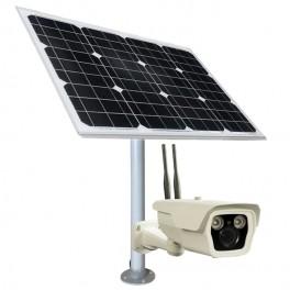 Camera de securitate HD cu 3G/4G si panou solar
