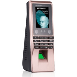 Biometric face and fingerprint time attendance machine