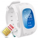 Smart watch with GPS and GSM for child surveillance