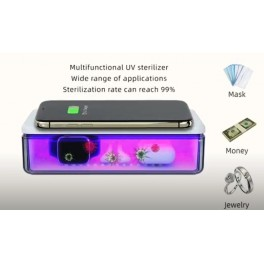 Cutie de dezinfectie cu raze UV-C pentru telefon