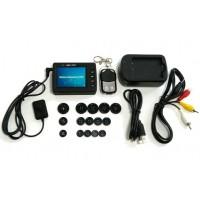 Camera nasture cu mini DVR si telecomanda