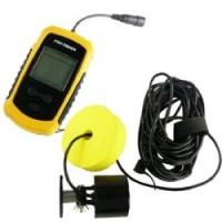 Sonar portabil pentru gasire peste cu senzor de Alarma raza 100m