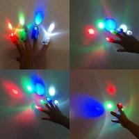 Set 4 lasere LED pentru degete
