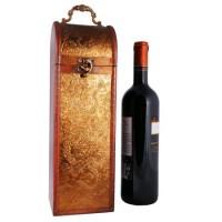 Cutie Pentru Vin Aurie