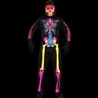 Costum schelet Neon reactiv