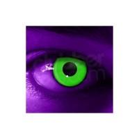 Lentile de contact Neon fluorescente
