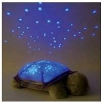 Broscuta decorativa cu proiector constelatie