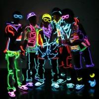 Fir neon electroluminescent EL wire