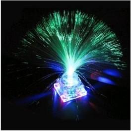 Lampa muzicala cu fibre optice multicolore