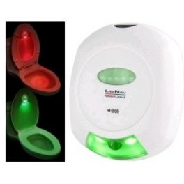 Lumina de toaleta inteligenta cu senzor de miscare