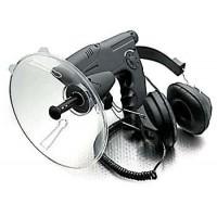 Microfon parabolic cu receptor de mare distanta