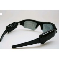 Camera de spionaj si MP3 in ochelari de soare