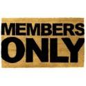 Members Only - Covoras pentru usa