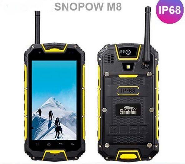 Waterproof and sockproof mobile phone Snopow M8